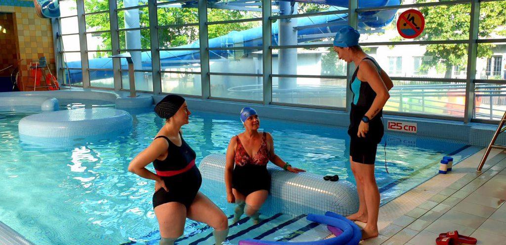Szkoła pływania i zajęcia dla kobiet w ciąży